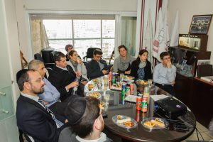 Ministry of Finance officials visit the Mesila office