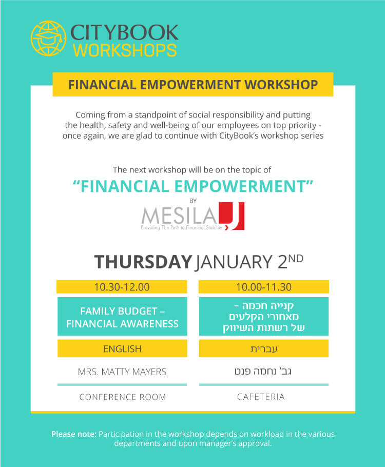 Citybook hosts Mesila Financial Empowerment Workshop