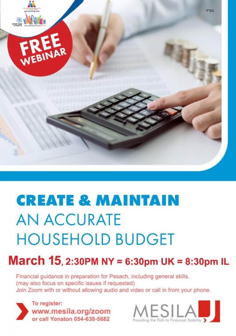 Financial Pesach Prep – NY – Mar 15 2021
