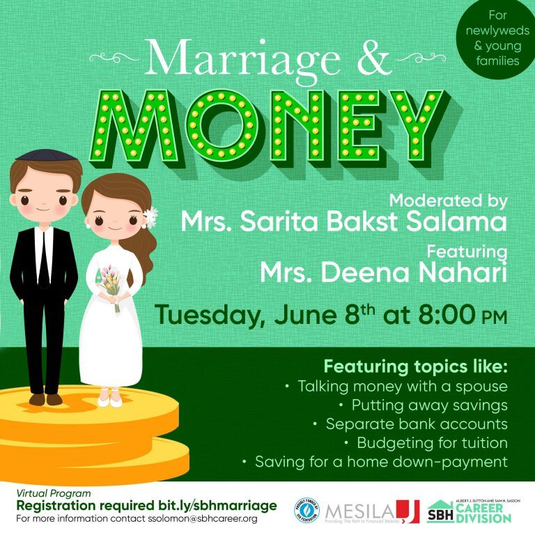 Mesila and SBH Financial Literacy Event: Budgeting for Newlyweds